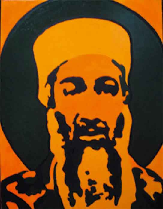 Bin-Laden,--oil-on-canvas,-80x100cm-2003