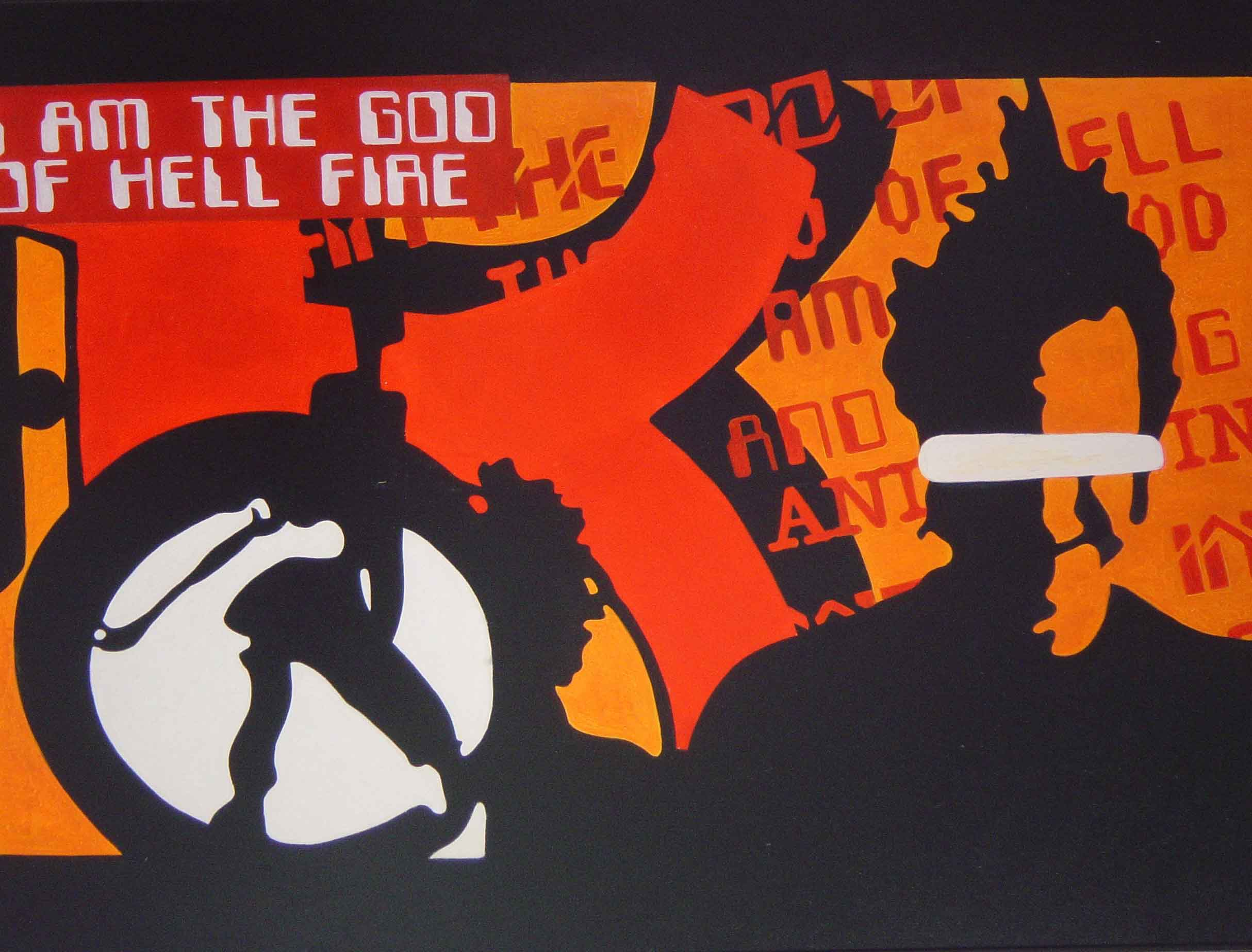 Fire-1,-oil-on-canvas,-175x135cm,-2000