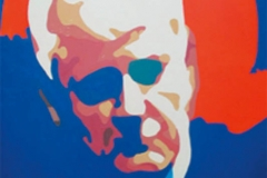 Milosevic, oil on canvas, 80x100cm 2003.