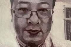 Dr Li Wenliang, 100x80cm, oil on canvas, 2020