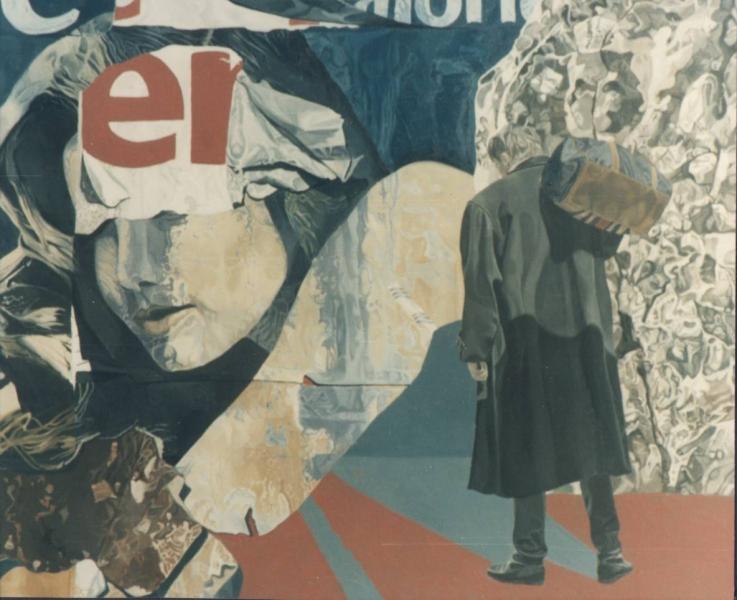 The Return, oil on canvas, 1994, 120x100cm