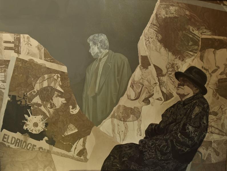 Departure, 160x140cm, oil on canvas, 1994