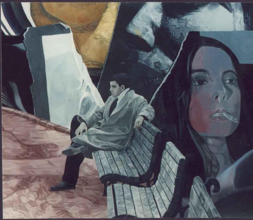 Desert-of-Real-3,-oil-on-canvas,-1996